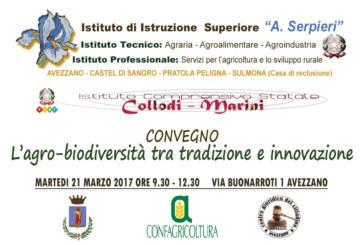 """Convegno """"l'Agro-biodiversità tra tradizione e innovazione"""""""