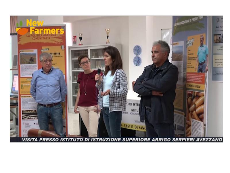 NEW FARMERS: visita all'Istituto Agrario Serpieri di Avezzano