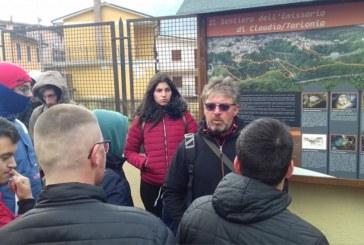 Escursione didattica presso l'Emissario Claudio/Torlonia – Capistrello novembre 2018