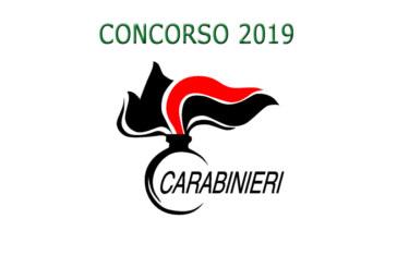 Concorso Carabinieri 2019 – presentazione domande entro il 4 febbraio